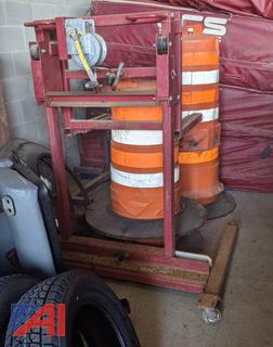 High Lift Dual Wheel Jack
