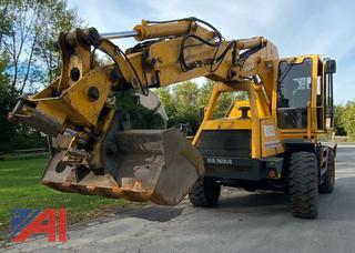 1999 Badger 1085D Wheeled Excavator