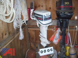 Johnson 9.9HP Outboard Motor