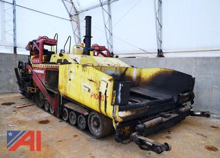 2011 Dynapac F1000T Tracked Paver/370