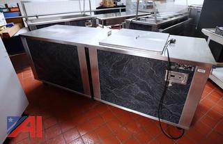 """Seco 92"""" CommercialRefrigerated Station/Cabinet"""