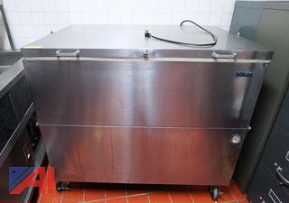 Norlake 4' S/S Portable Milk Cooler
