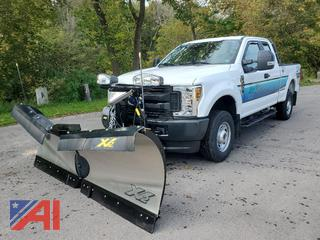 REDUCED BP 2018 Ford F250 XLT Super Duty Extended Cab Pickup Truck with Plow