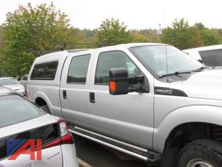 2012 Ford F250 Super Duty Crew Cab Pickup Truck with Cap