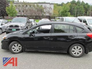 2016 Subaru Impreza 4 Door