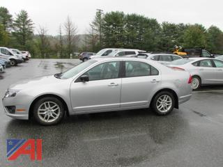 2012 Ford Fusion S 4 Door
