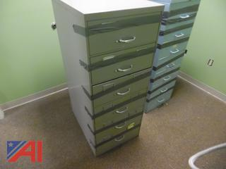 Card Catalog Filing Cabinets