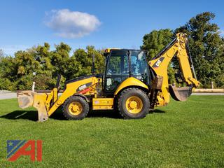 2012 Caterpillar 420E Backhoe with Attachments