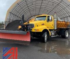 2006 Sterling L8500 Sander Truck with Plow and Wing