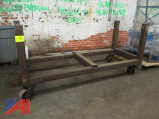 Extra Heavy Duty Steel Bar Cart