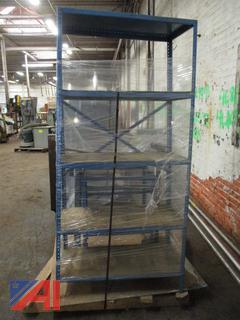 Shelf 5 Level Steel & Table