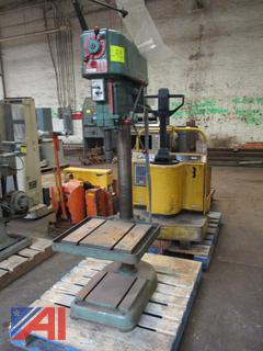 "Powermatic 20"" Variable Speed Floor Model Drill Press Model 1200"