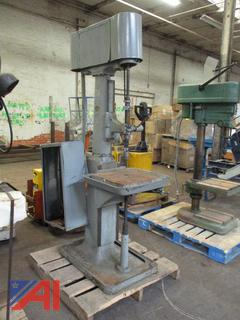 Lucas-Sipp Machine Co. Floor Model Drill Press Morse Taper