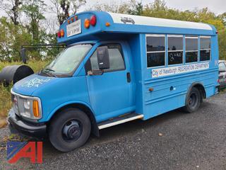 (#2) 2001 GMC Savana G3500 Bus