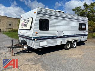 1993 Damen Hornet 22' Travel Camper