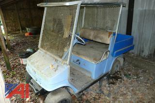 (#9) Yamaha Golf Cart with Roof Top
