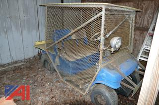 (#7) Golf Cart with Surrounding Cage