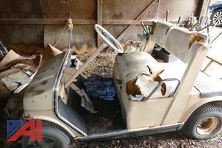 (#6) Yamaha Golf Cart