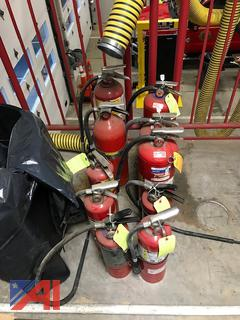 Used Fire Extinguishers