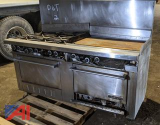 Garland Stove with Griddle & Ovens