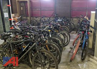 Several Bicycles