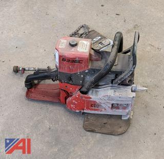 ICS 633 GC Concrete Saw