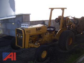 1979 MF 20C Industrial Tractor