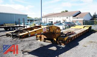 1994 Eager Beaver 35 Ton Goose Neck Drop Deck Trailer with Ramps/H577