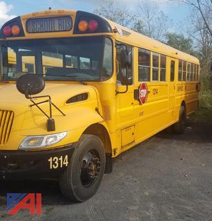 (#1314) 2014 International CE School Bus