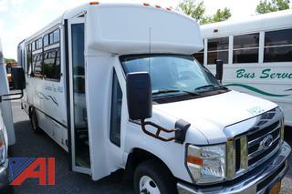 (#1433) 2014 Ford E450 Mini Bus with Wheelchair Lift