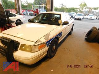 (#5633) 2007 Ford Crown Victoria 4 Door/Police Interceptor