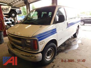 (#5149) 2002 Chevy Express 3500 Van
