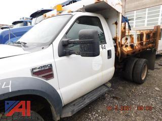 (#944) 2008 Ford F450 Super Duty Dump Truck