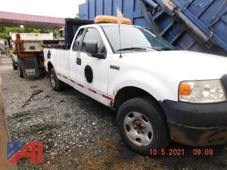 (#305) 2008 Ford F150 Extended Cab Pickup Truck with Lift