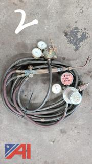 Welding Torch Set and Commercial High Pressure Air Hose