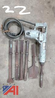 Electric Jack Hammer and Chisels