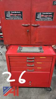 Snap-On Tool Box with Mixed Tools