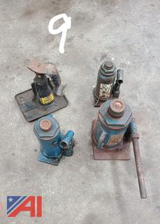 Hydraulic Jacks and Bench Vise