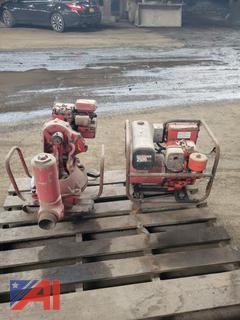 Homelite Water Pump & Homelite Generator, 2500 Watt