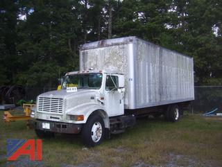 2000 International 4700 Box Truck (Parts Only)
