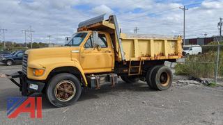 1995 Ford F700 Dump Truck