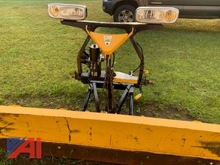 8' Fisher Straight Blade Snow Plow