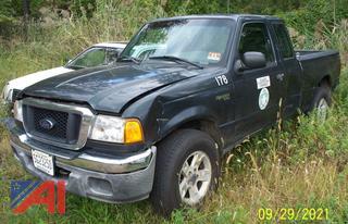 2004 Ford Ranger XLT Extended Cab Pickup Truck