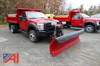2015 Ford F550 Pickup with Dump & Plow