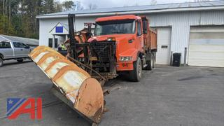 2003 Volvo VHD Dump Truck with Side Dump - Front Spreader, 11' Wing & 12' Front Plow