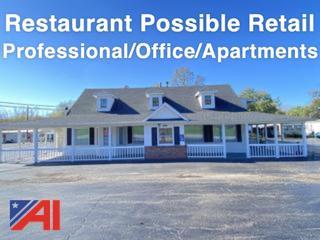 """Former """"Iron Kettle Restaurant"""""""
