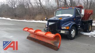 2001 International 4700 Sander Plow Truck