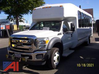 2013 Ford F550 Wheelchair Bus