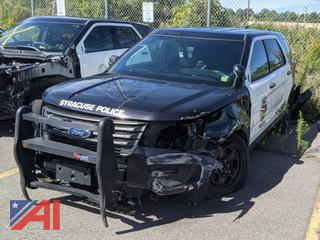 2017 Ford Explorer SUV/Police Package