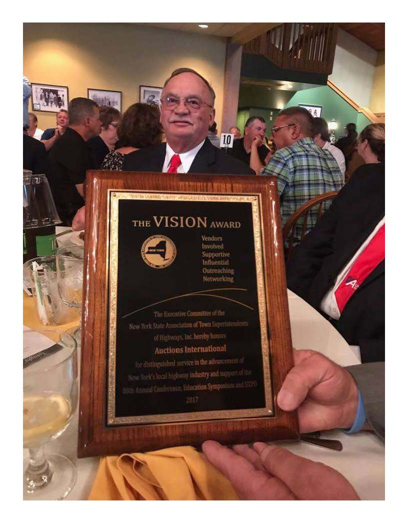 Picture of VISION award